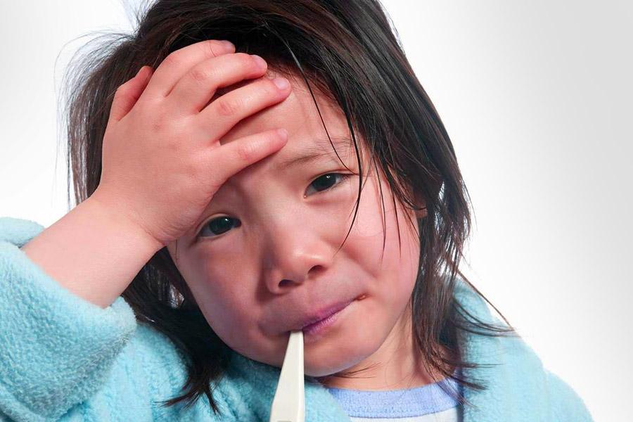 Cosa fare se i bambini hanno la febbre | Mamma Sto Bene!
