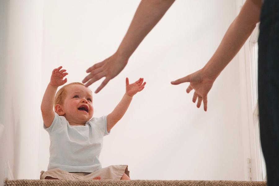 paura del distacco bambini genitori