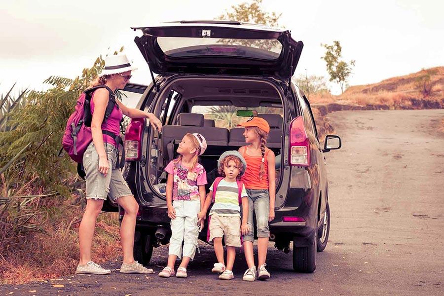 viaggio per i bambini