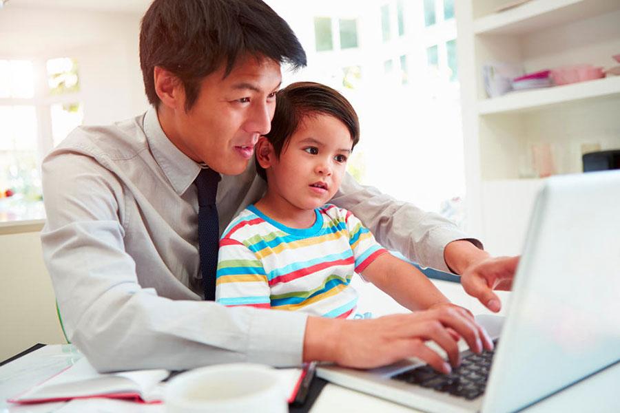 lavoro padri figli rapporto