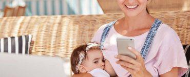 allattamento cellulare in mano rischi