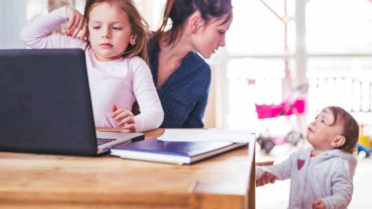 lavoro online per rimanere a casa mamme