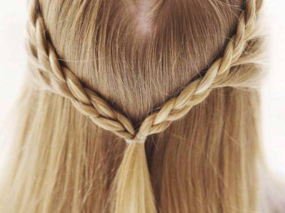 trecce bambina capelli lunghi