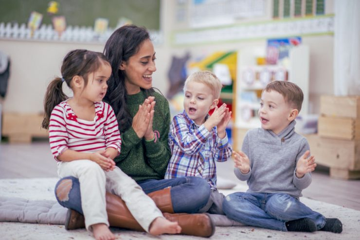 giusta babysitter per i figli
