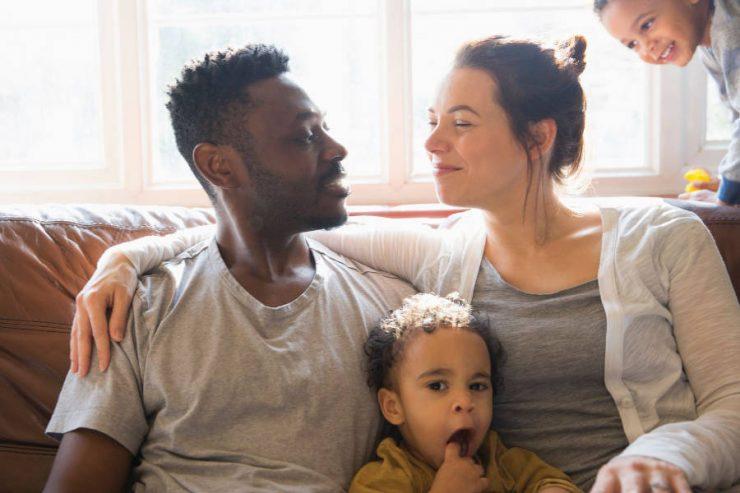 intimità di coppia con figli in casa