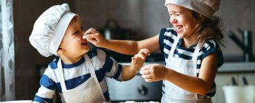 cucinare con bambini