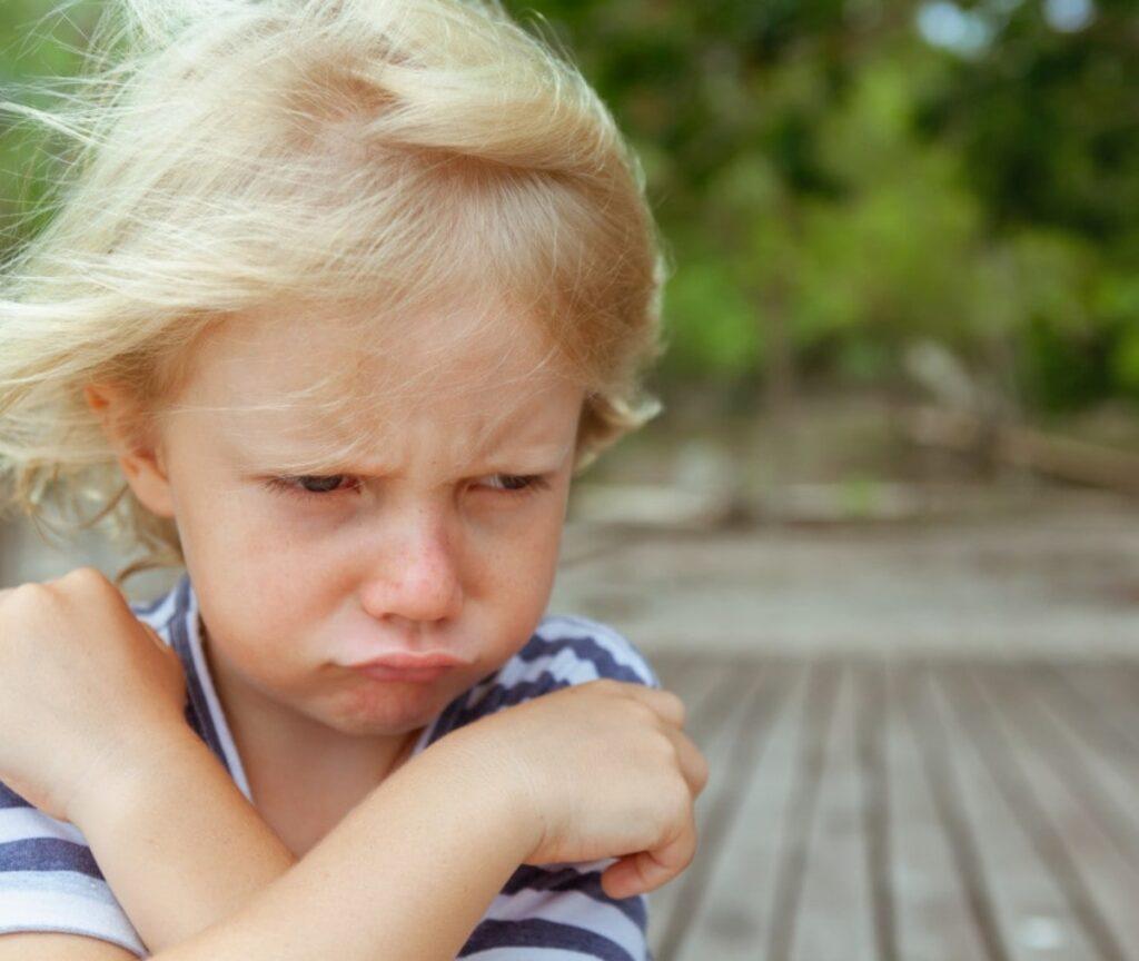 Bambino che non ascolta Mammastobene.com