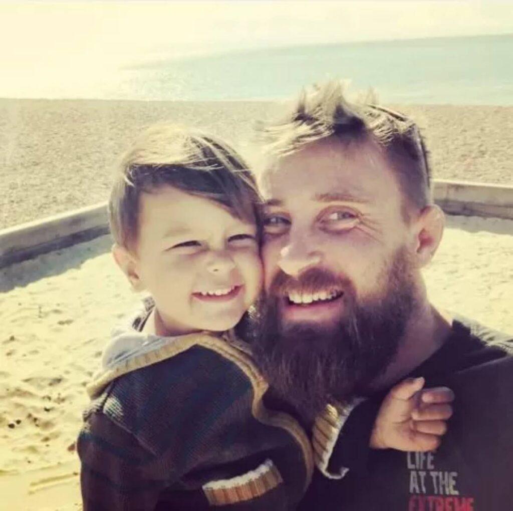Richard Pringle e il figlio 1