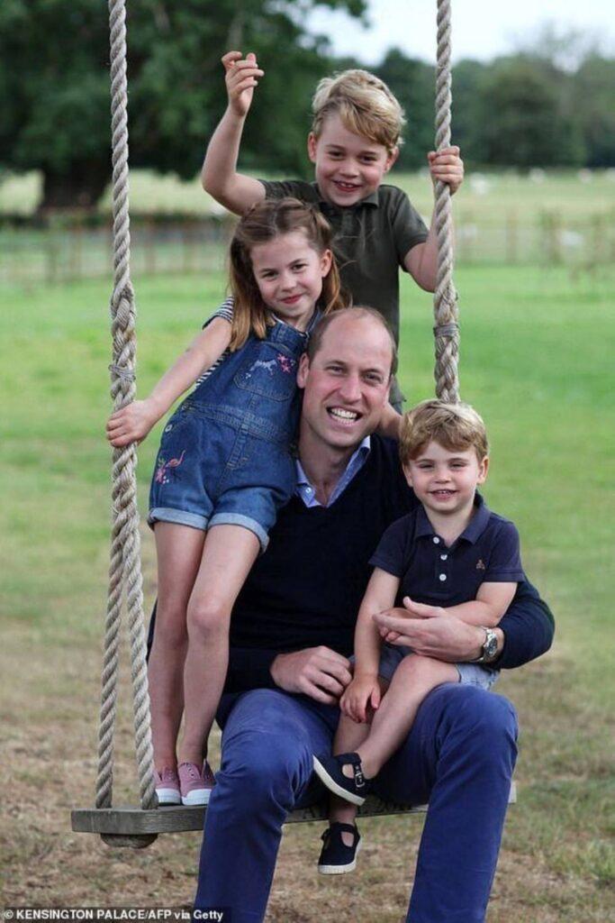 George e il principe William