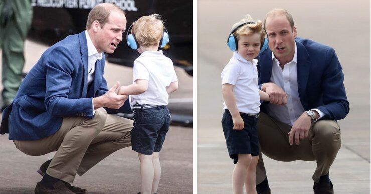Principe William e George