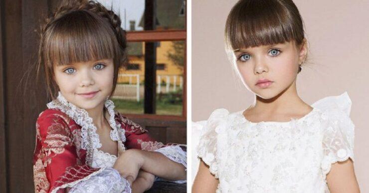 bambina di 6 anni più bella del mondo