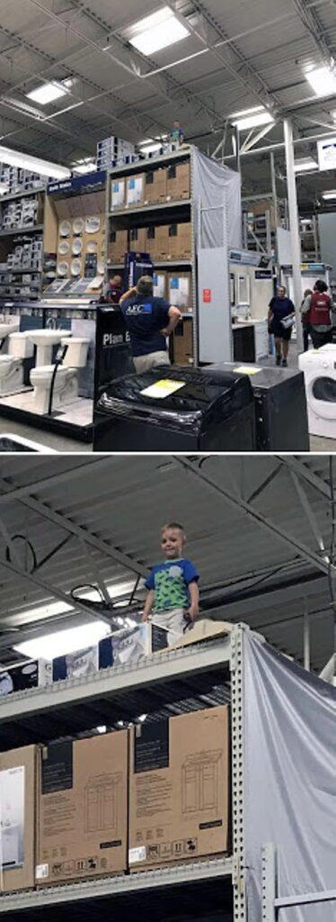 Mai perdere di vista un bambino