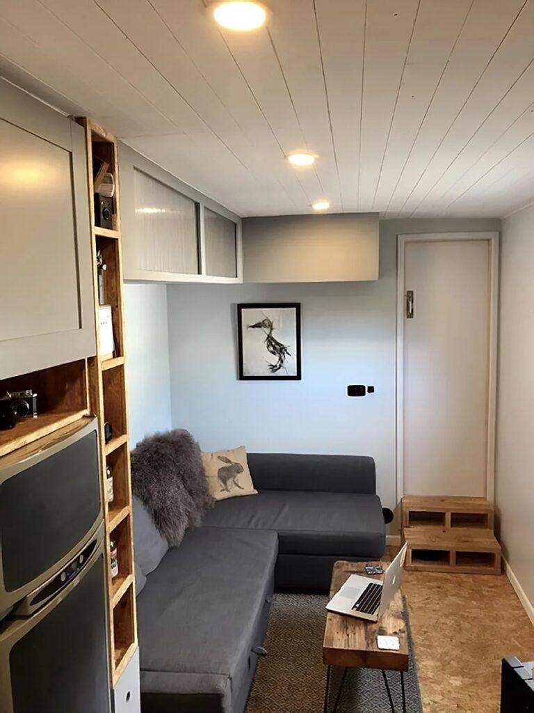 soggiorno accogliente e moderno