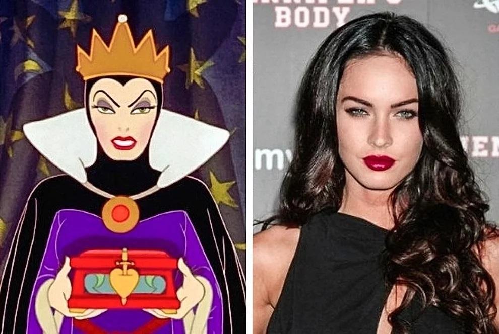 La regina cattiva e Megan Fox