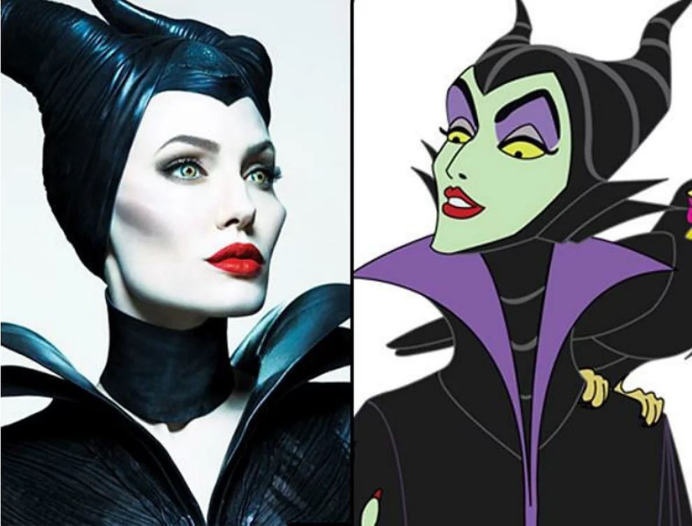 Malefica e Angelina Jolie