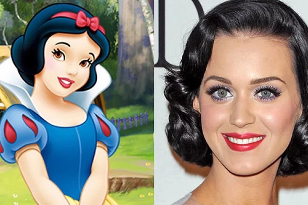 Katy Perry e Biancaneve