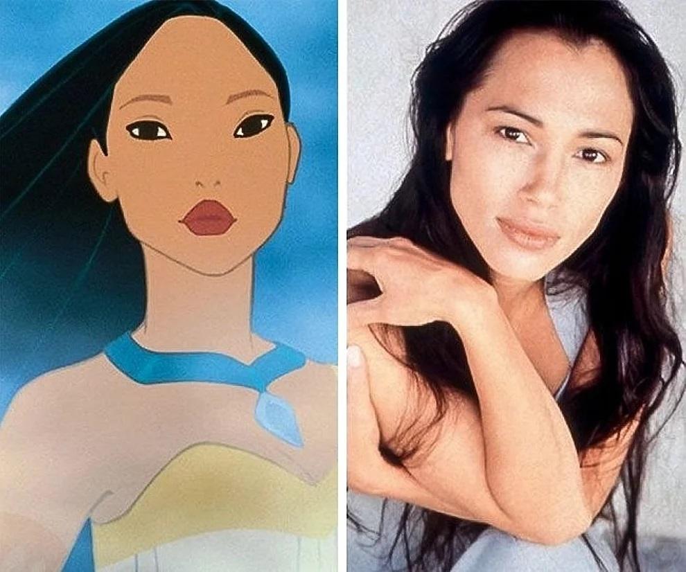 Pocahontas e Irene Bedard
