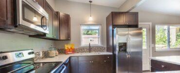 pulizia cucina, elettrodomestici acciaio
