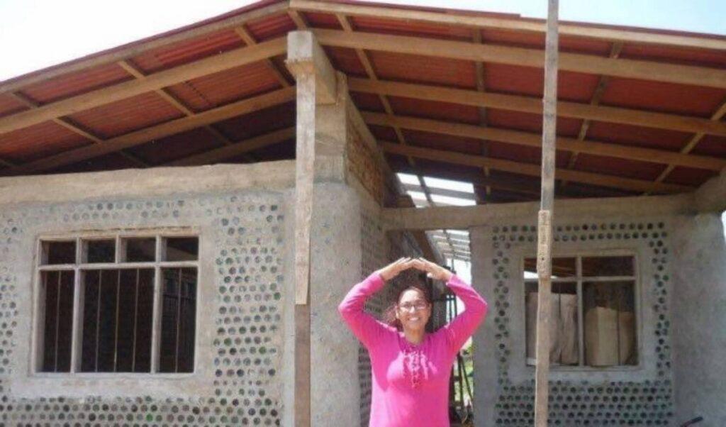case costruite da Ingrid Vaca Diez