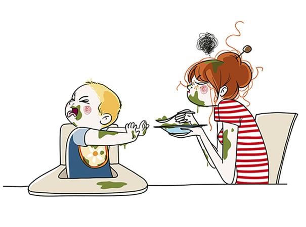 Far mangiare tuo figlio