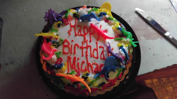 torta per i 30 anni di Michael