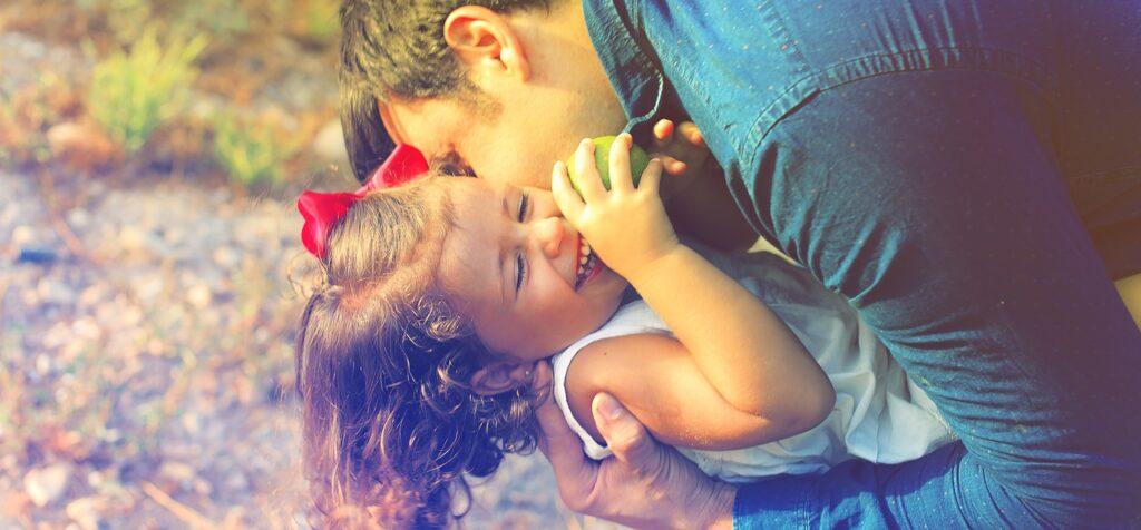 genitore e figlia
