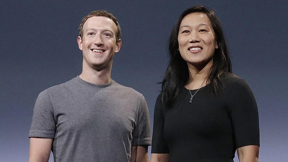 Mark Zuckerberg e Priscilla