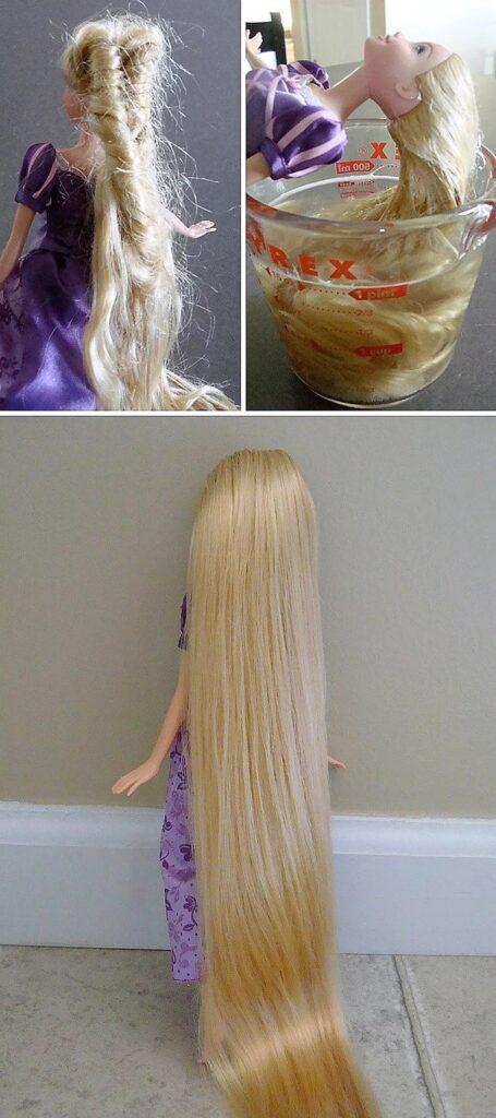 Come districare i capelli delle bambole