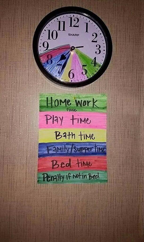 Creare una routine giornaliera