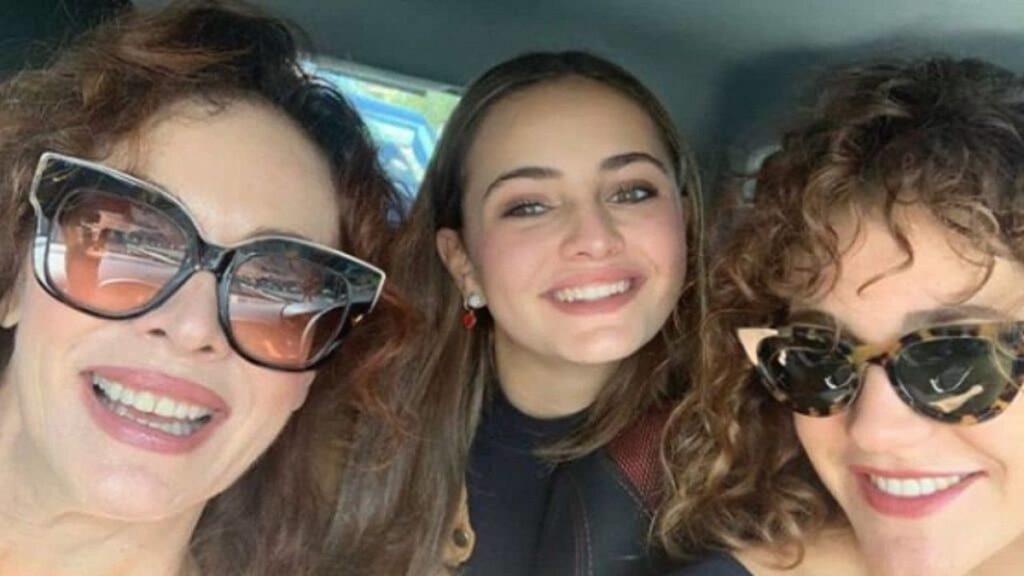 figlie della nota attrice
