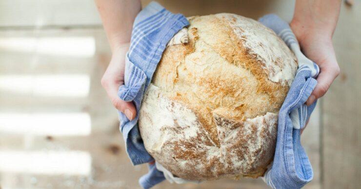Pane fatto in casa con la pasta madre