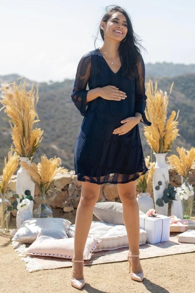Abito corto per donna incinta