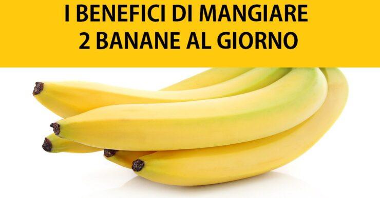 Mangia 2 banane al giorno per 1 mese