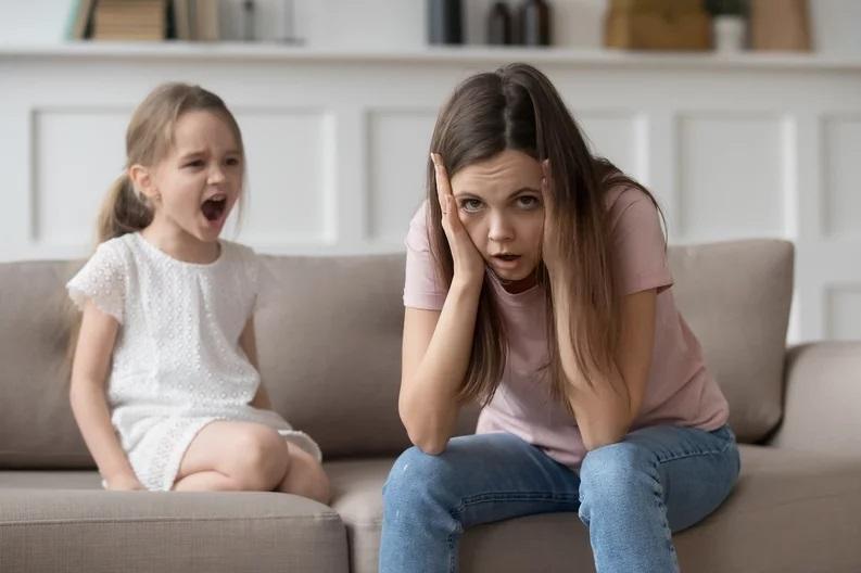 Mamme disperate con i figli