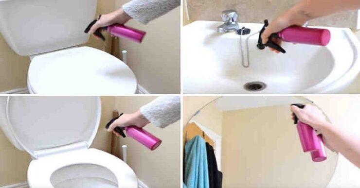 Come pulire il bagno in 6 minuti