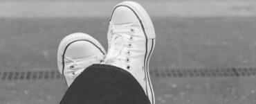 scarpe da ginnastica bianche