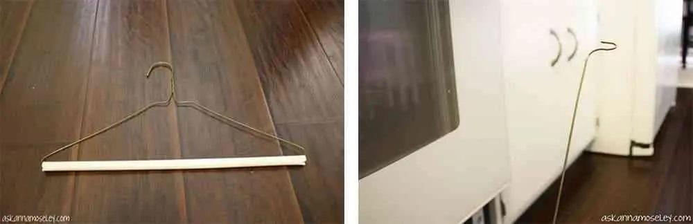 strumento per pulire il vetro del forno