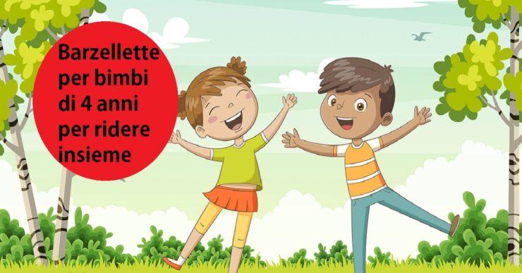 Barzellette per bimbi di 4 anni