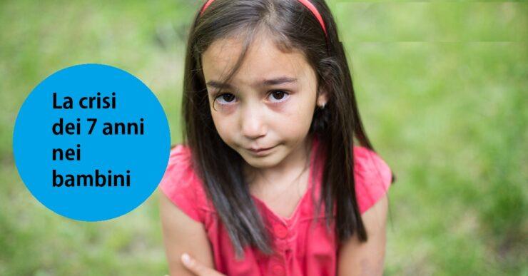 crisi di 7 anni nei bambini