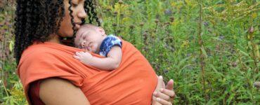 fascia ergonomica per neonati