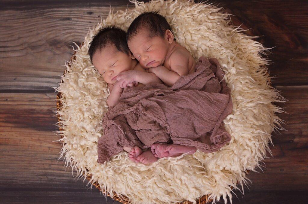 Fratellini dormono insieme