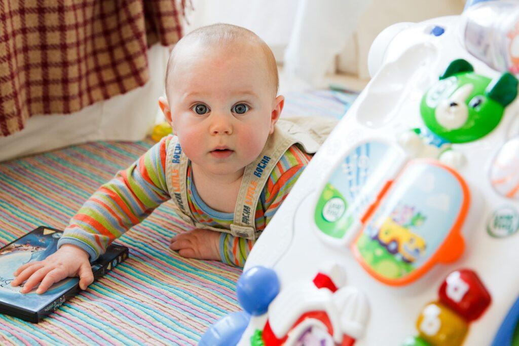 I giochi del neonato