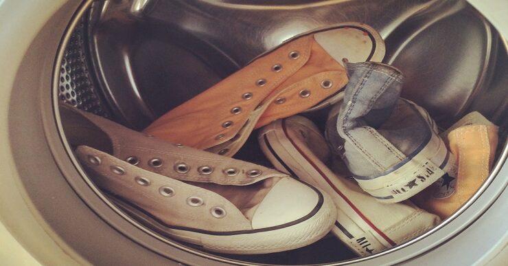 scarpe in lavatrice