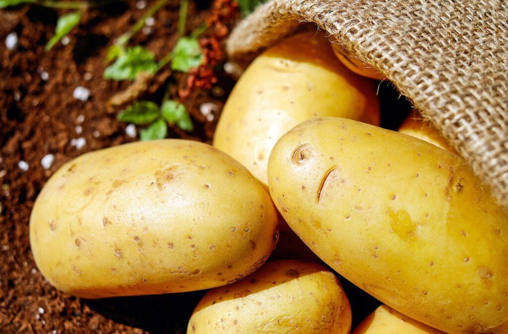 Buccia delle patate