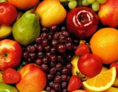 frutta che matura