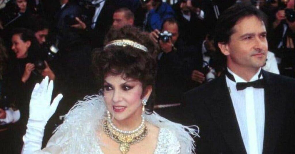 Gina Lollobrigida e Andrea