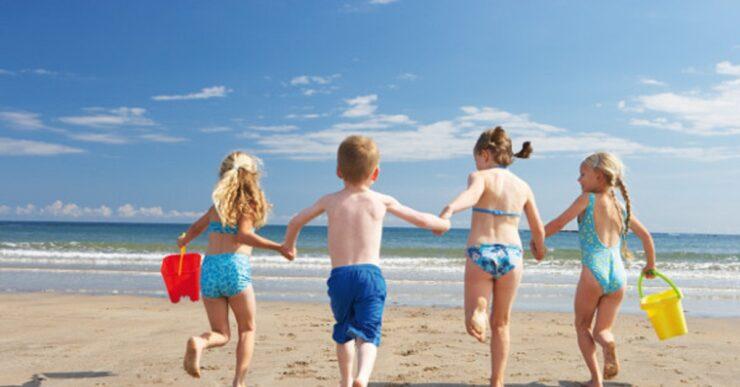 giochi spiaggia bambini