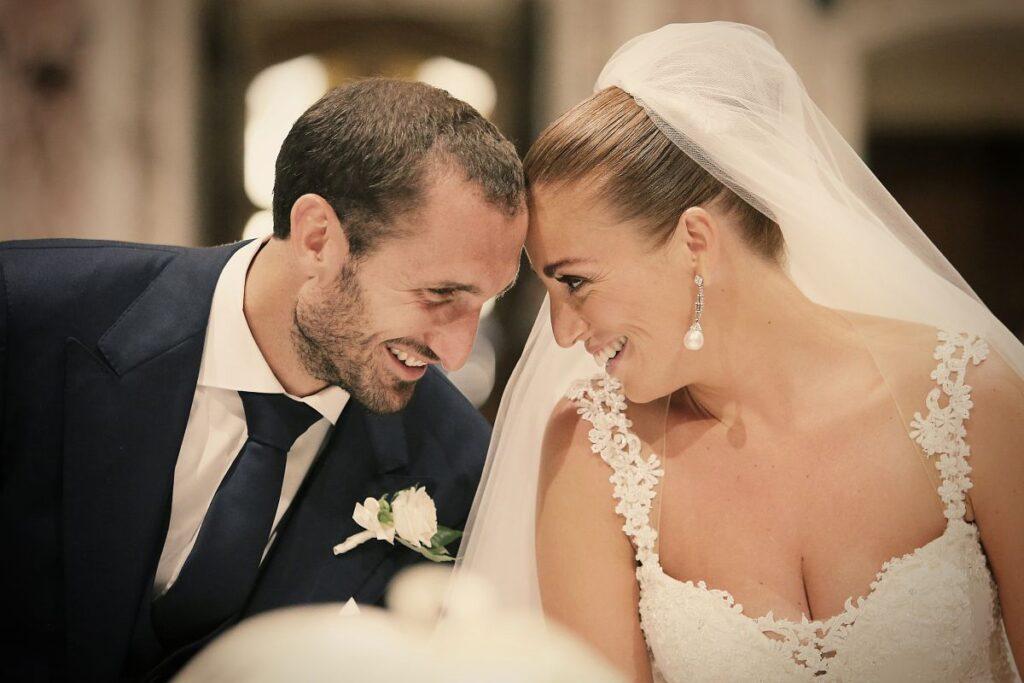Giorgio Chiellini e Carolina Bonistalli