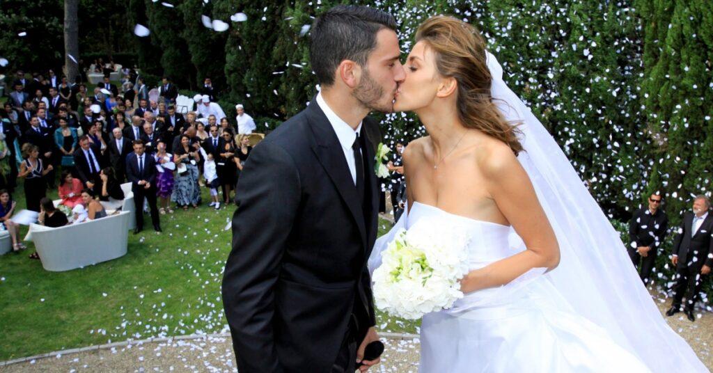 Leonardo Bonucci e la moglie