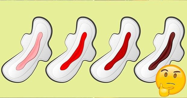 Colori del ciclo mestruale